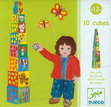 Djeco Stacking Cubes - My Friends.  DJ08506
