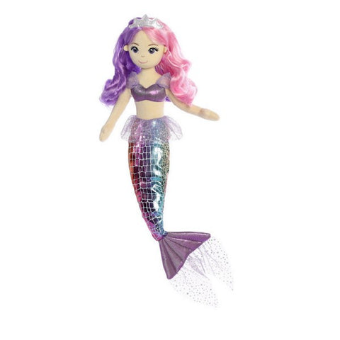 Sea Sparkles Pastel Sea Iris Mermaid Doll 18""