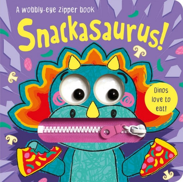 Snackasaurus! - Board Book
