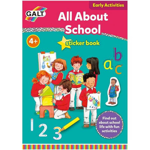 All About School activity book