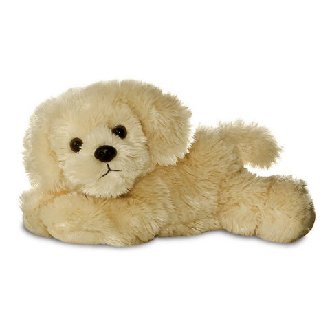 Golden Retriever Mini Flopsie soft toy -  8""