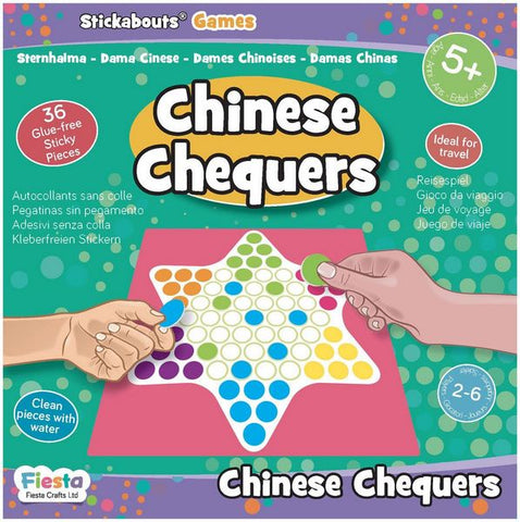 Chinese Chequers - Stickabouts® Game - travel game