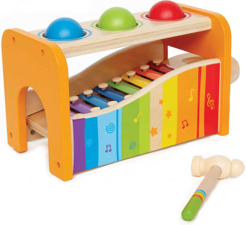 Early Melodies Rhythm Tap and Pound Bench with Xylophone