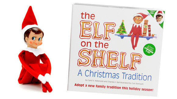 Elf on the Shelf - Elf toy with book