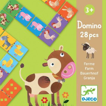 Djeco Farm Dominoes.  DJ08158