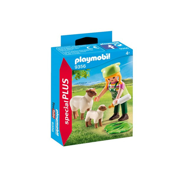Playmobil Farmer with Sheep - 9356