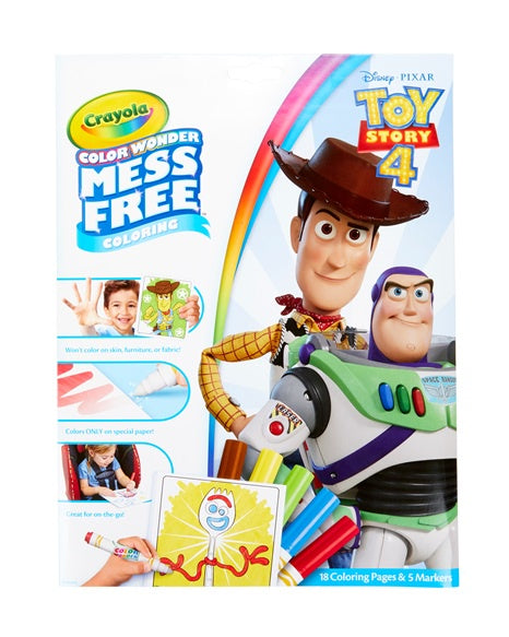 Toy Story Colour Wonder Mess Free Colouring