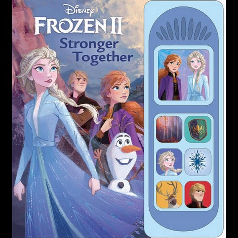 Frozen II Stronger Together book