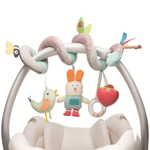 Taf Toys Garden Spiral Cot and Car Seat Toy