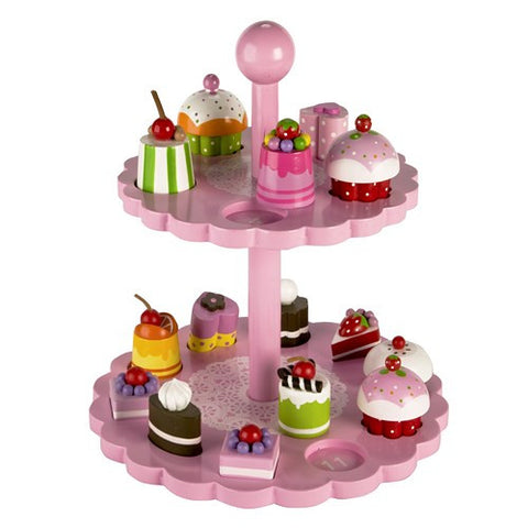High Tea Shape Matching Cake Stand
