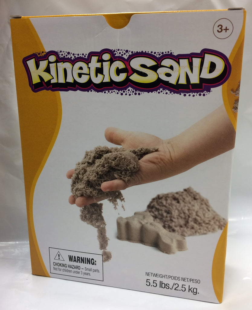 Kinetic Sand Brown 2.5kg