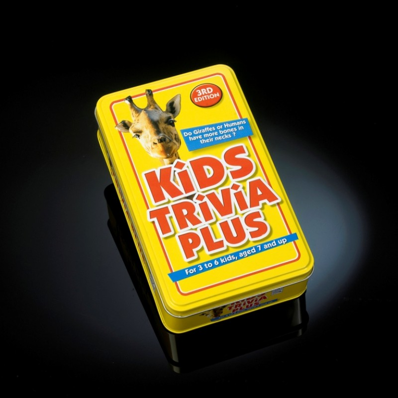Kids Trivia Plus 3rd Edition - Children's Card Game