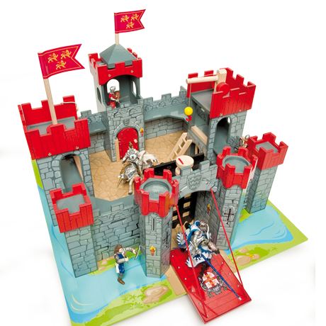Lionheart Wooden Toy Castle by Le Toy Van