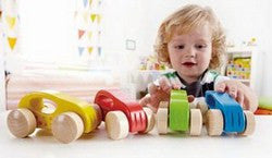 Little Autos - Wooden Push Along Cars by Hape