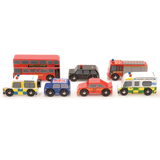 London Cars - wooden vehicle set by Le Toy Van
