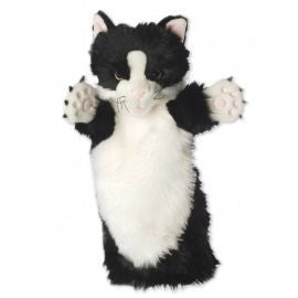 Black and White Cat Puppet Company