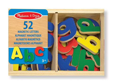 Melissa and Doug 52 Wooden Letter Magnets