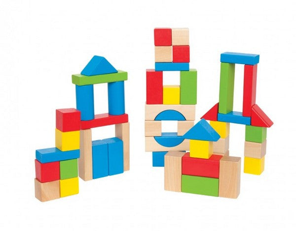 Maple Blocks - colourful wooden blocks