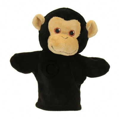 My first chimp puppet