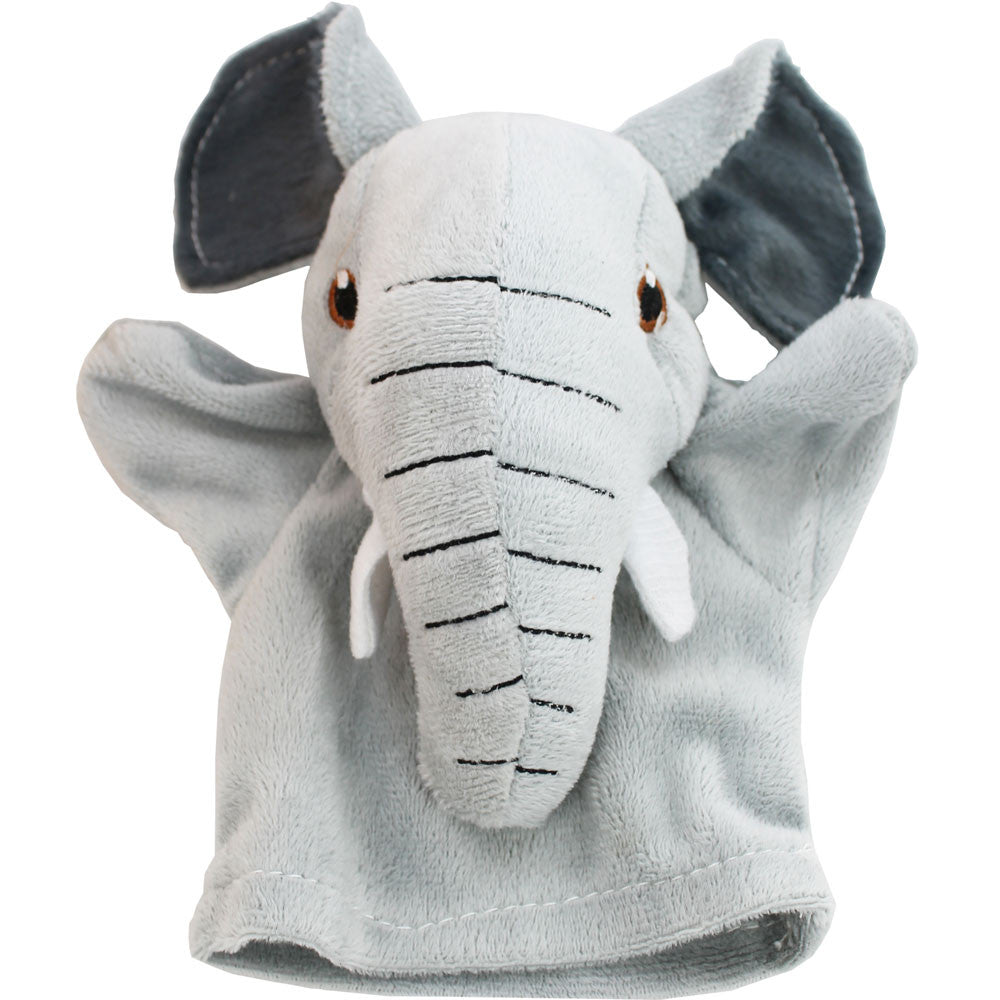 My first elephant puppet