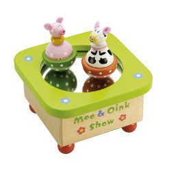 Moo and Oink Musical Box