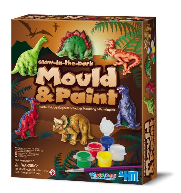 Mould and Decorate Dinosaurs