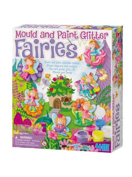 Mould and Decorate Glitter Fairies