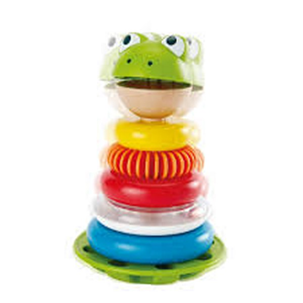 Mr. Frog stacking rings - stacking toy for babies
