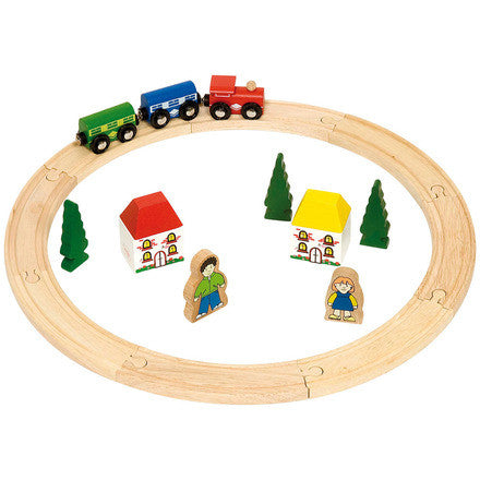 Big Jigs Wooden Rail - My First Train Set