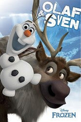 Disney's Frozen Poster - Sven and Olaf
