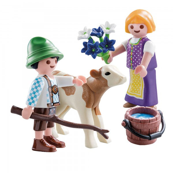Playmobil  Special Plus Children with Calf - 70155