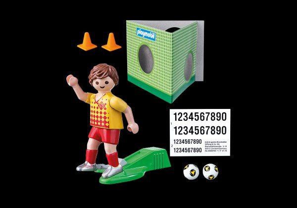 Playmobil Special Plus Soccer Player with Goal - 70157