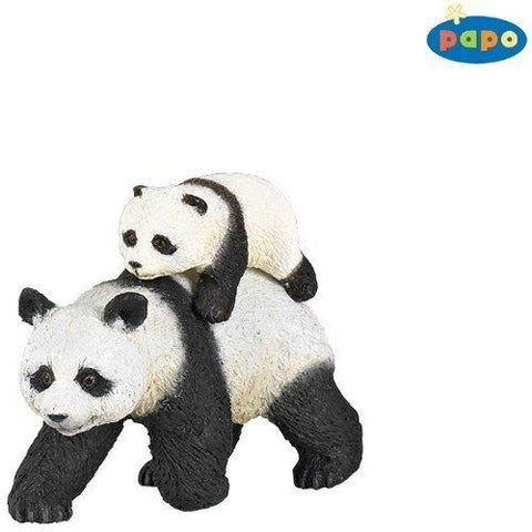 Papo Wild Animals - Panda and baby