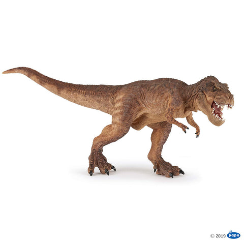 Papo Dinosaur - Brown Running T-Rex