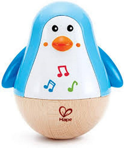 Penguin Music Wobbler - musical toy for babies