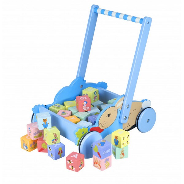 Peter Rabbit™ Block Trolley walker wagon