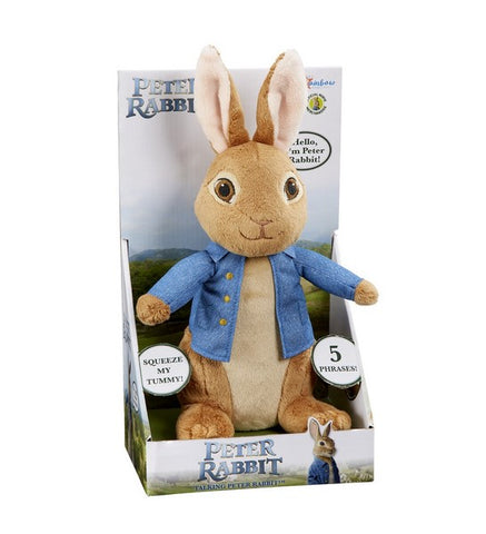 Talking Peter Rabbit - from the Peter Rabbit movie