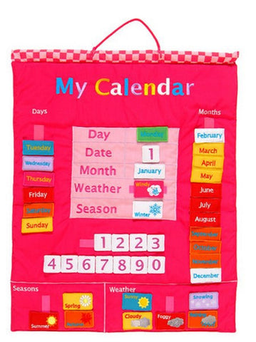 Fiesta Crafts - My Calendar Pink (fabric)