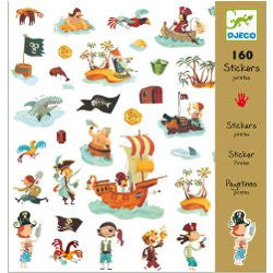 Djeco Pirate Stickers.  DJ08839