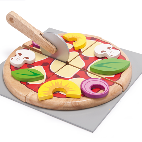 Le Toy Van Pizza - Wooden Food Playset