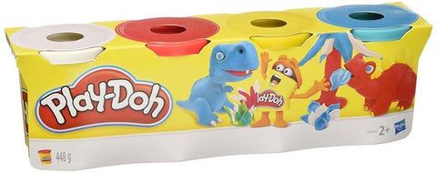 Play Doh - 4 tubs mixed colours