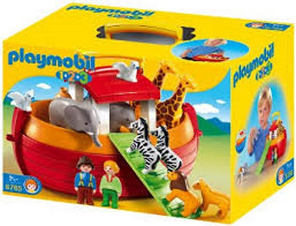 Playmobil 1.2.3. My Take Along Noah's Ark - 6765