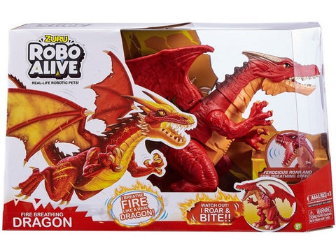 Robo Alive Roaring Red Dragon