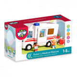 Wow Toys Robin's Medical Rescue - toy ambulance