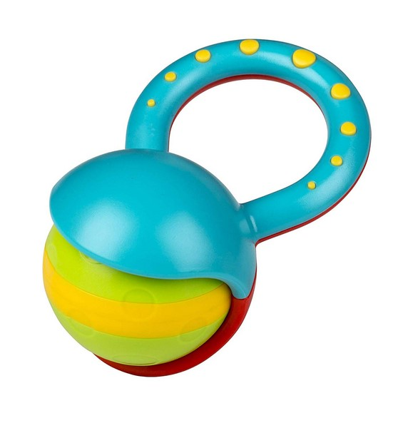 Roll Ball - musical rattle toy