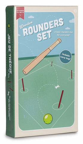 Wooden Rounders Set