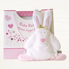 Rubie Rabbit Snuggle Bunny – Microwaveable Heated Comforter Toy