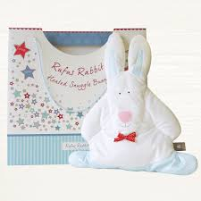 Rufus Rabbit Snuggle Bunny – Microwaveable Heated Comforter Toy
