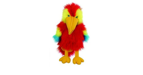 Baby Scarlet Macaw Puppet