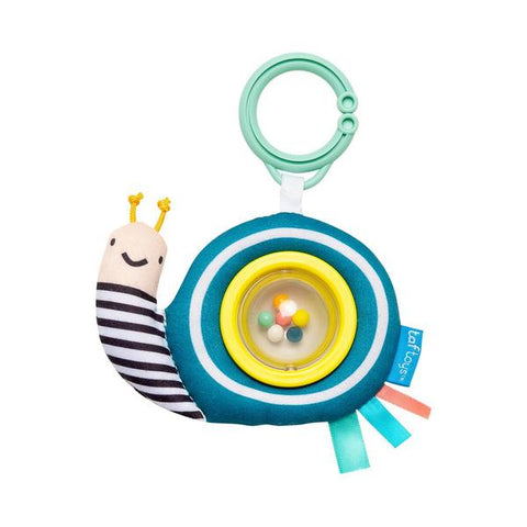 Scotty The Snail Ball Rattle for babies
